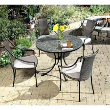 patio table and chairs set small garden furniture sets patio black round modern iron patio furniture