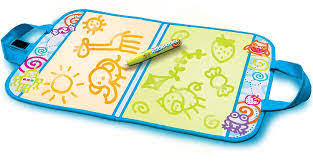 Aquadoodle turns water into color, so you can doodle in red, blue, green, and purple. Amazon Com Aquadoodle Accessories Travel Doodle Neon Toys Games
