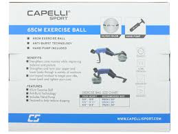 Body Ball Size Chart Fitness 65cm Exercise Ball Silver