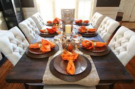 dining room table centerpieces decorations. view in gallery orange napkins as accents fall dining table decor room centerpieces decorations r