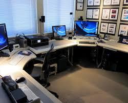 impressive office desk setup. stewart altschuleru0027s impressive home office desk setup t