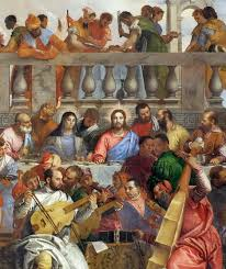 the story in paintings a feast of veronese the eclectic light The Wedding At Cana Painting By Paolo Veronese if paolo veronese Paolo Veronese Inquisition