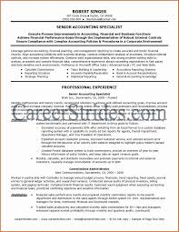 Resume Format For Experienced Accountant Pdf New Inspirational 24