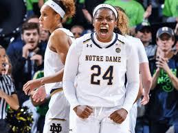 Notre Dame Basketball Depth Chart Notre Dame Louisville Womens Basketball Ogunbowale Lifts
