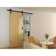 interior sliding door. Barrierslide Barn Strap Sliding Door Gear- 2000mm - Black Interior U