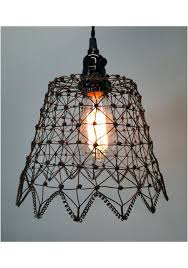 en wire chandelier lovely mesh like pendant light fixture in shape cha en wire chandelier