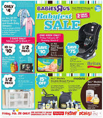 r flyers babies r us babyfest sale flyer february 28 to march 13