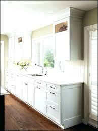 kitchen cabinet base molding kitchen trim ideas distinguished moulding