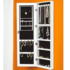 Mirrored Jewelry Cabinet Armoire Free Standing Mirrored Jewellery Cabinet Uk Monsterlune