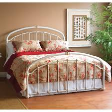Birmingham Iron Bed by Wesley Allen - Cottage White Finish