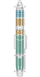 A340 600 Etihad Airways Seat Maps Reviews Seatplans Com