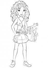 Lego Friends Coloring Pages To Print