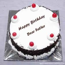 Birthday Cake And Wishes For Father Cakes 827768 Attachment