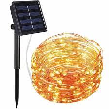 72ft <b>22M 200 LED</b> Solar Strip Light Home Garden Copper Wire Light ...
