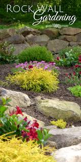 Rock Wall Gardening tips, ideas, and inspiration