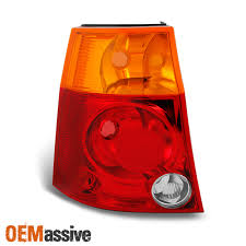 2007 Chrysler Pacifica Brake Light Bulb Fit 04 08 Chrysler Pacifica Red Tail Lights Left Driver Side Replacement