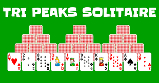 tri peaks solitaire play it
