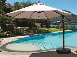 patio umbrellas cantilever. Plain Cantilever Galtech Quick Ship Cantilever 11 Foot Aluminum Offset Umbrella And Patio Umbrellas