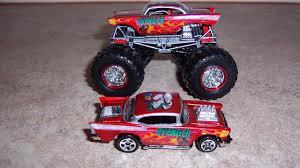 Monster Jam Custom Monster Truck 1 64 57 Chevy Avenger Candy Apple ...