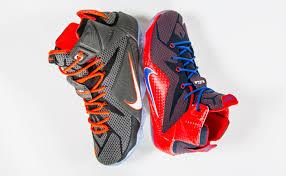 lebron shoes superman. two a-days : nike lebron 12 \u201ccourt vision\u201d -x- nike lebron gs \u201csuperman\u201d lebron shoes superman u