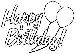 Birthday Party Coloring Page Coloring Pages Birthday Party Coloring