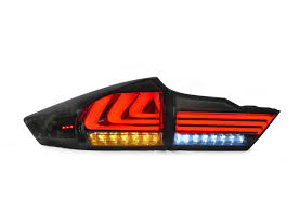 The Item Is Vland Honda City Tail Lamp The Color Is Red And Smoked