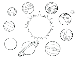 Solar System Coloring Coloring Solar System Coloring Pages For 5th