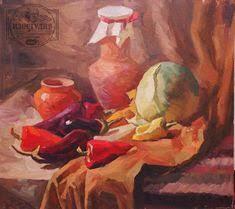 Жизнь в Галушковке Холст масло краски дипломная работа  Уроки живописи маслом натюрморта в Днепропетровске Сельский натюрморт на хуторе Галушковка Уроки живописи маслом