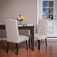 christopher knight home crown fabric off white dining chairs set of 2 rating