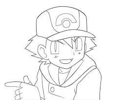 Small Picture Pokemon Ash Coloring Pages Wonderful Coloring Pokemon Ash Coloring