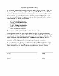 Payment Agreement Contract Payment Agreement 24 Templates Contracts Template Lab 1
