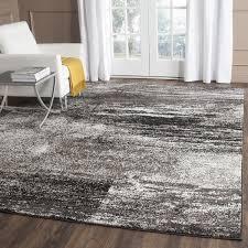 wish safavieh adirondack modern abstract silver black large area rug 10 x 14