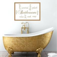quick view bathroom wall murals uk sayings mural decal p