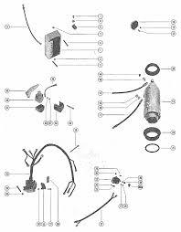 mercury marine 650 3 cylinder starter motor starter solenoid engine section