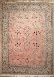 pink semi antique persian saruk area rug pink objects