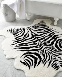 Zebra Bathroom Rug Apartments Stunning Bathroom Accessories With Zebra Print Rug