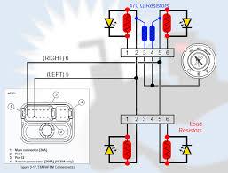 xr1200 leds 470 ohm resistors