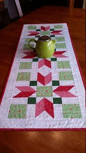 Quilted Table Runner Modern Christmas Table Runner by djwquilts ... & Quilted Table Runner Modern Christmas Table Runner by djwquilts pattern  from Sew Fresh Quilts Adamdwight.com
