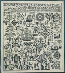 Sampler 1823 - Cross Stitch <b>Kit</b>   Семплеры   Вышивание крестом ...