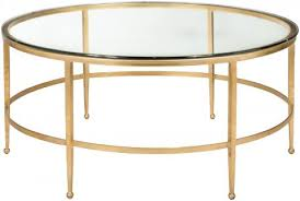 glass top round coffee table safavieh