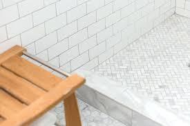 home depot shower floor tiles open shower with marble herringbone shower floor home depot mosaic shower