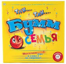 <b>Настольная игра Piatnik</b> Тик Так Бумм. Семья — купить по ...