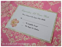cherry blossom wedding invitations Wedding Invitations With Rsvp Cards Attached diy response card rsvp wedding invitations with rsvp cards attached