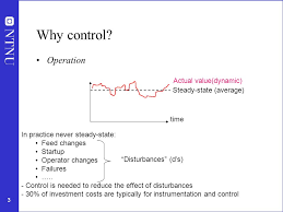 plantwide process control introduction ppt video online  why control operation actual value dynamic steady state average