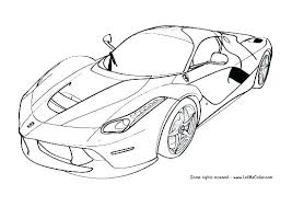 Car Coloring Page Car Coloring Pages Printable Car Coloring Page