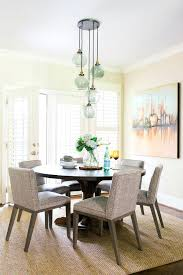 beach style lighting inch round candle dining room transitional with globe pendant light beach style area