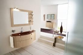 ... Medium Size Of Bathroom Entrancing Picture Of Italian Decoration Using  Mount Wall Oak Wood Laminate Mirror