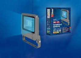 <b>Прожектор светодиодный</b> (UL-00002073) <b>Uniel</b> 10W <b>ULF</b>-<b>F17</b> ...