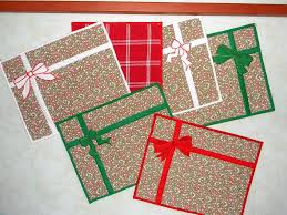 Designer Paper Placemats Oh So Easy Christmas Placemats Designer Backed Mats With