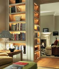 with love and light living room bookcase lighting i35 bookcase